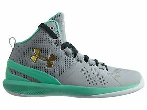 Under Armour Curry 2 Little Kids 1270904-053 Grey Basketball Shoes Youth Size 12