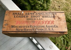 "Rare Winchester Ammo Box 410 Gauge ""Interesting Story Here"""