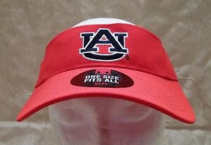 Auburn University Under Armour Golf Visor Adjustable Hat Orange Cap New w Tag