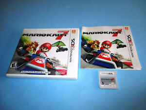 Mario Kart 7 (Nintendo 3DS) XL 2DS Game wCase & Manual