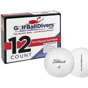 TITLEIST PROV1X 2016-NEAR MINT AAAA GRADE-RECYCLED USED GOLF BALLS-96 PACK