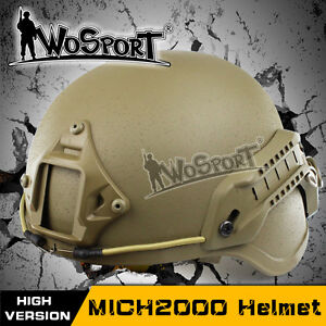 Tactical Military Combat Airsoft Hunting Paintball Protective MICH 2000 Helmet