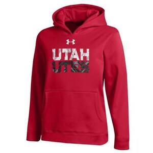 Boy's Under Armour University of Utah Utes Performance Hoodie