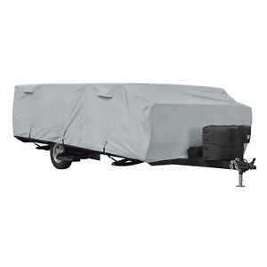 Classic Accessories PermaPRO? Folding Camping Cover Fits 10' - 12'L Trailers
