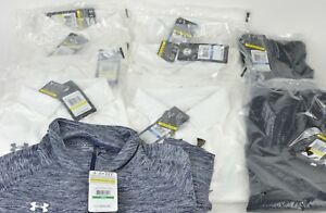 New Under Armour Clothing Lot 10 Pieces: Polo Shirts T-Shirts Shorts