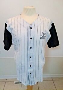 Mens Movie Shirt Baseball Uniform LARGE Field of Dreams Souvenir Top Button Down