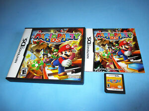 Mario Party DS (Nintendo DS) Lite DSi XL 3DS 2DS wCase & Manual