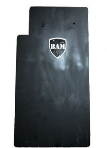 BALLISTIC SHIELD Bullet Proof Level IIIA L3A 12x23 STOPS .44 MAG L Shape $164.99