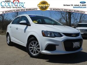 Sonic LT 2017 Chevrolet Sonic Summit White with 50806 Miles available now!