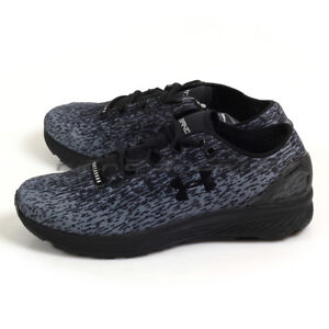 Under Armour UA Charged Bandit 3 Ombre BlackZinc GreyBlack Running 3020119-004