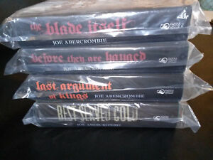 Subterranean Press Joe Abercrombie Signed Numbered Matching Set 4 Books All #107