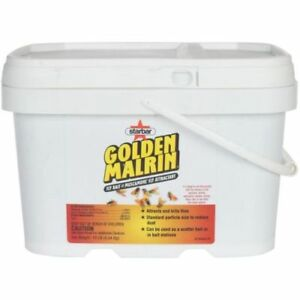 Golden Gold Malrin Muscamone Fly Bait Poison Attractant in a 10 LB Bucket BEST