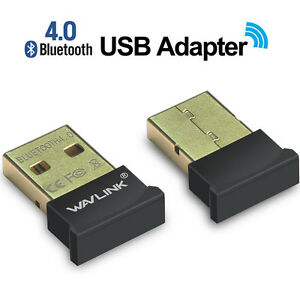 Wavlink USB Bluetooth4.0 CSR Adapter Wireless Dongle Stereo Receiver for Win108