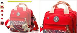 Clevr Baby Toddler Backpack Camping Hiking Child Kid Carrier w Shade Visor Red