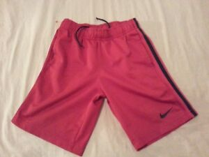 Boys Nike Shorts XS Red Athletic Gym Workout $6.39
