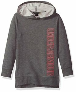 Under Armour Girls' Vertical Tunic Hoody - Choose SZcolor