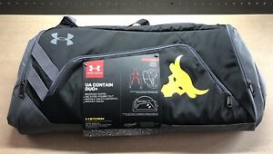 Under Armour UA x Project Rock Contain Duo+ Backpack Duffle Bag 3.0