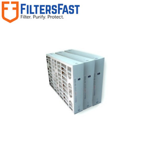 Filters Fast 4quot; HVAC MERV 11 Air and Furnace Filters 3 PACK Several Sizes