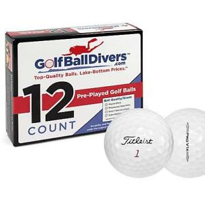 TITLEIST PROV1X 2014-NEAR MINT AAAA GRADE-RECYCLED USED GOLF BALLS-108 PACK