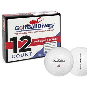 TITLEIST PROV1X 2016-NEAR MINT AAAA GRADE-RECYCLED USED GOLF BALLS-108 PACK