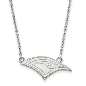 LogoArt 10k White Gold The University of Tennessee at Chattanooga Sm Pend wNeck