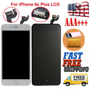 LCD+Touch Screen Digitizer Replacement For iPhone 6S Plus A1634 A1687+Button