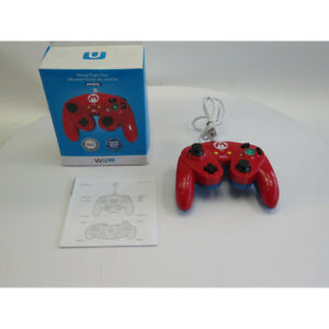 Wired Fight Pad for Wii U - Mario