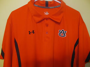 Clemson Tigers War Eagles Sideline Polo shirt - Under Armour Adult XL