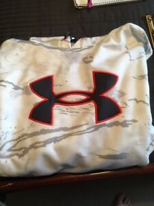 Under Armour Hoodie White Camo - men's XL