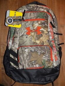 UNDER ARMOUR Men's Women's CAMO Full Sized Storm Backpack NEW NWT $69.99
