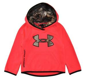 Under Armour Toddler Girls Pink Chroma Pull-Over Hoodie Size 2T $49.99