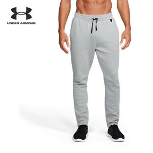 UNDER ARMOUR Mens Unstoppable Knit Sweatpants Pants 1317909 NWT Sz XL gray