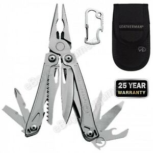 Leatherman Sidekick Stainless Steel 14 Multi-tool Pocket Brand New Free Shipping