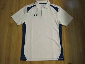 Under Armour Heatgear Compression Loose Polo Golf Shirt Mens Size S