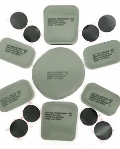 NEW ORIGINAL US ARMY ISSUE - PADS SET (7 PADS) FOR THE ACH  MICH HELMET New