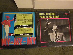 Otis Redding 2LP lotPain In My Heart OP'64 Mono remarkable discDictionary OfSo