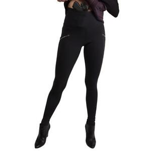 UnderTech Undercover Women's Concealed Carry Zip Pocket Leggings in Black 4091