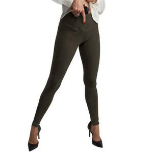 UnderTech Undercover Women's Concealed Carry Zip Pocket Leggings in Army Green
