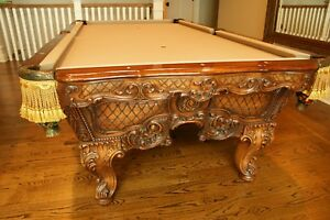 Renaissance Gobelins  Pool Table Original by Charles Porter 90