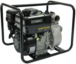 Everbilt 5.5 HP Gas-Powered Utility Pump Self Priming Water Transfer Removal New
