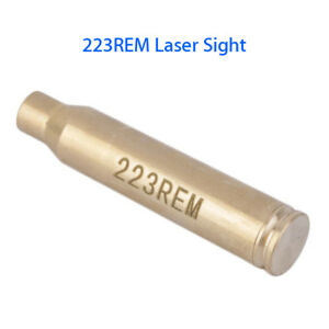 223REM Bore Brass Coppery Red Laser Sight Boresight For Hunting Scope Training