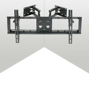 Universal TV Wall Mount Full Motion Swivel Arm Fixed For 32-85 in LED LCD UHD