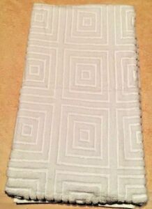 2PC Hudson Park Collection 100% Turkish Cotton Bath Towels White Brand New 28x42