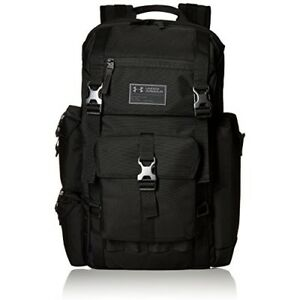 Under Armour Cordura Regiment Backpack Black (001)Charcoal One Size Soft Durabl