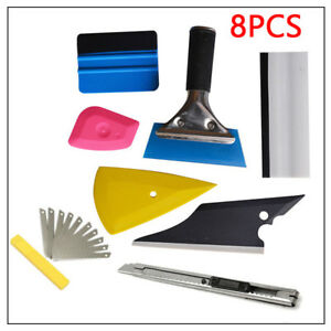 One Set Squeegee Car Window Tinting Auto Film Install Wrapping Applicator Trim