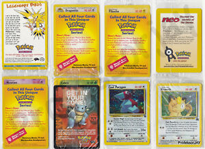 Pokemon Cards SEALED OUT OF PRINT BLACK STAR Wizards Of The Coast PROMOS amp; HOLOS