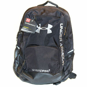 Under Armour UA Storm Hustle Backpack  Bag Black