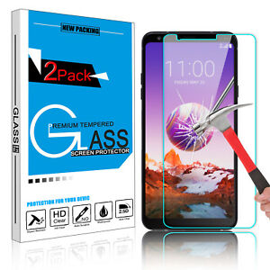 For LG Stylo 4 Stylus 4 Plus Premium Tempered Glass Screen Protector Film Clear