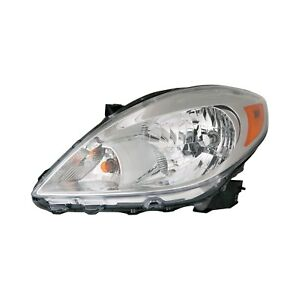 For Nissan Versa 12-14 Replace Driver Side Replacement Headlight Remanufactured