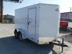 6x12 Cargo Mate EHSeries Cargo Enclosed Utility ATV Motorcycle Camping Trailer!!